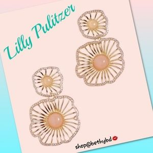 Lilly Pulitzer🌹 Pink Tropics Tint Earrings NWT